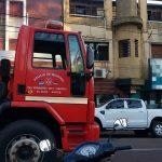 Incendio en un edificio dejó daños materiales