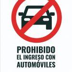 Prohibido el ingreso al Parque de las Naciones con automóviles