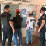 Dos hombres acusados de amenazar a una mujer fueron detenidos