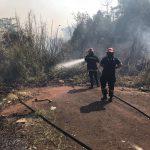 Se registraron tres incendios en Oberá: no hubieron daños materiales ni lesionados