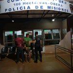 Detuvieron a dos jóvenes por infracción al Código de Faltas de la Provincia