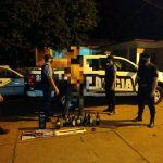 Amenazaron de muerte a sus familias y fueron detenidos
