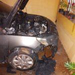 Investigan el incendio de un vehículo en Oberá