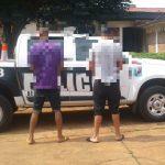 Detuvieron a dos jóvenes por el robo de yerba mate en Campo Viera