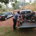 La Policía recuperó una motocicleta robada en Oberá