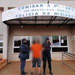 Detuvieron a un joven que amenazó a su padre e intentó robarle en Oberá