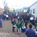 Marcha y protesta de empleados municipales de Oberá