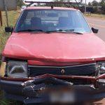 Colisión entre dos automóviles sobre la ruta 14 dejó daños materiales