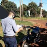Detenidos, actas, motos y licencias retenidas en Operativo de Nocturnidad en Oberá