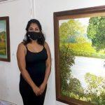 Lorena Guaimas expone «Paisajes Misioneros» en la Casa de la Cultura