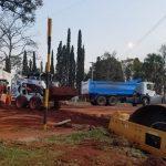 Oberá: Vialidad trabaja en mejoras sobre Picada Sarmiento