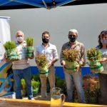 Entrega de plantines del programa dendoenergético Pro Leña