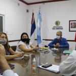 El Intendente se reunió con integrantes de Caritas Parroquial