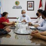 Coordinan acciones entre la Municipalidad y el IFAI
