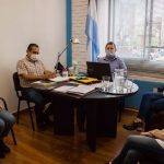 Reunión con autoridades del Ministerio de Salud Pública Provincial