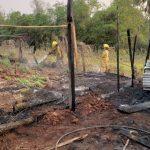 Incendios fueron sofocados en poco tiempo en tres localidades