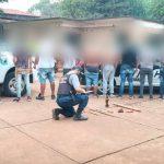 Detuvieron a integrantes de una patota que atemorizaban a vecinos del barrio El Progreso de Campo Viera