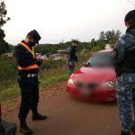 Demoraron a un conductor que realizaba maniobras peligrosas con su vehículo en la ruta 14