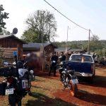 Secuestraron una motocicleta y 6 machetes presumiblemente utilizados en una gresca donde resultó con lesiones una joven