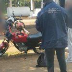 Recuperaron en Panambí una motocicleta que fue robada en Oberá
