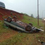 Despistó con su vehículo en la Ruta Nacional 14 y resultó ileso