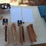 UPII Oberá: detectaron droga en trozos de madera