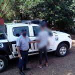Robaron elementos de una vivienda en Campo Viera y fueron detenidos