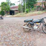 Choque entre motocicletas, dejó dos lesionados