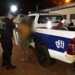 Violento fue detenido en Oberá por amenazar a su pareja y a los vecinos con un cuchillo