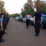 Con 1000 efectivos continúan los Operativos Integrales de Seguridad Ciudadana en la Provincia
