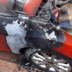 Un principio de incendio provocó daños en un vehículo en Oberá
