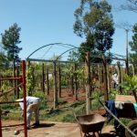 Se avanza con Obras en Jardín Bíblico del Hogar Santa Teresa