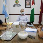 Autoridades del AEMO presentaron proyectos al Intendente