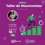 Dictarán Taller sobre Neuroventas