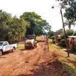 Arreglos de calles e instalación de contenedores de residuos