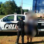 Detuvieron a un hombre que días atrás amenazó con un arma de fuego a su pareja