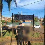 Ocasionó disturbios en el en el C.I.C. del barrio Günther, agredió a la Policía y fue detenido