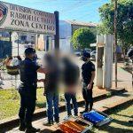 Detuvieron a dos jóvenes que robaron y comercializaron sillones plegables