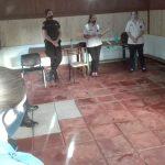 Policía Comunitaria: continúan las charlas de contención al personal policial