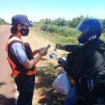 Seguridad Vial: En Oberá fueron retenidas 10 motocicletas, 4 vehículos y se labraron más de 50 actas de infracción