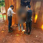 Detuvieron a un joven involucrado en dos hechos de robo en Los Helechos