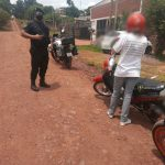 4 motocicletas y dos licencias retenidas, además de 6 actas labradas en controles viales