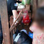 Asistieron a una familia con donaciones y vestimentas en Guaraní