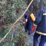 Bomberos de la Policía sofocaron dos incendios en Oberá y Guaraní