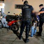 Motocicleta robada en calle Peñaloza de Oberá  fue recuperada