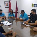 Policías y la Agencia Nacional de Seguridad Vial se reunieron en Oberá