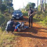 La Policía recuperó una motocicleta robada anoche en Oberá