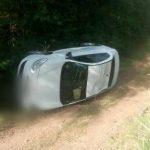 Despiste de un Renault Fluence dejó daños materiales