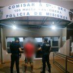 «Bebi» fue detenido por amenazas en el barrio San Miguel