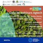 Ciclo de charlas sobre la tecnología aplicada al agro